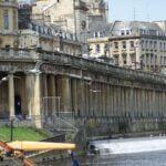 Bath - Along the canal