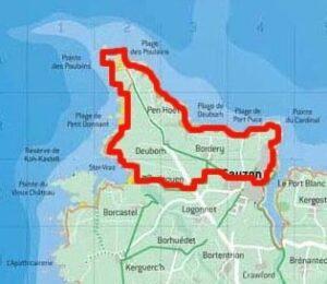Belle Ile - Walk Map