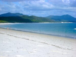 Île Whitsunday - Whitehaven Beach