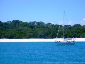 Sailing the Whitsunday Islands