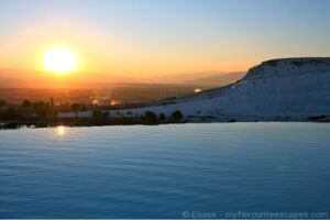 Sunset at Pammukale