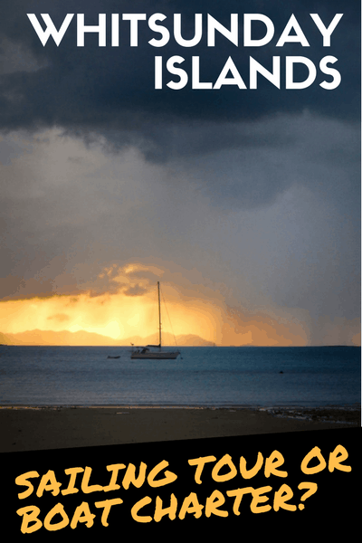 WHITSUNDAY ISLANDS sailing tour or boat charter