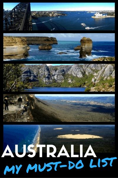 Must do in Australia
