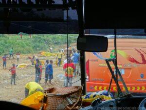 Bus trip from Dar Es Salaam to Arusha