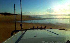 Kgari - Fraser Island - 4WD on 75 mile beach