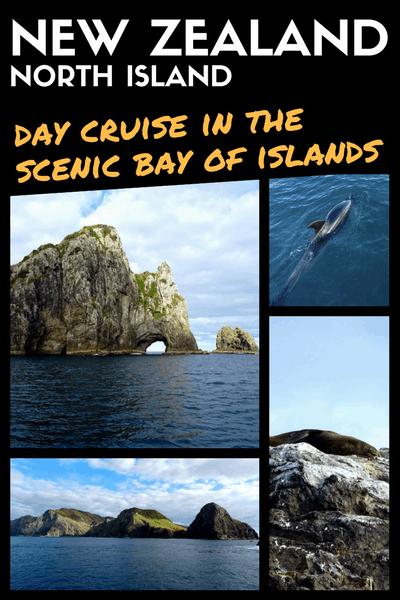 NEW ZEALAND NORTH ISLAND - bay of islands cruise day