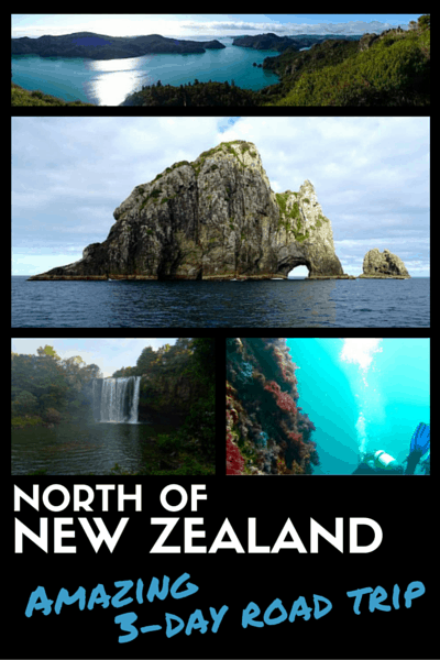 NORTH OF NEW ZEALAND