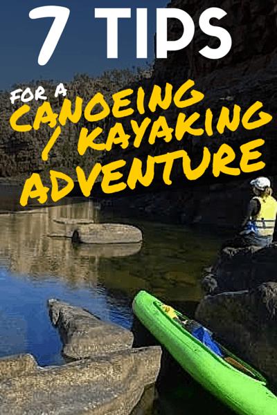 Canoeing & Kayaking tips