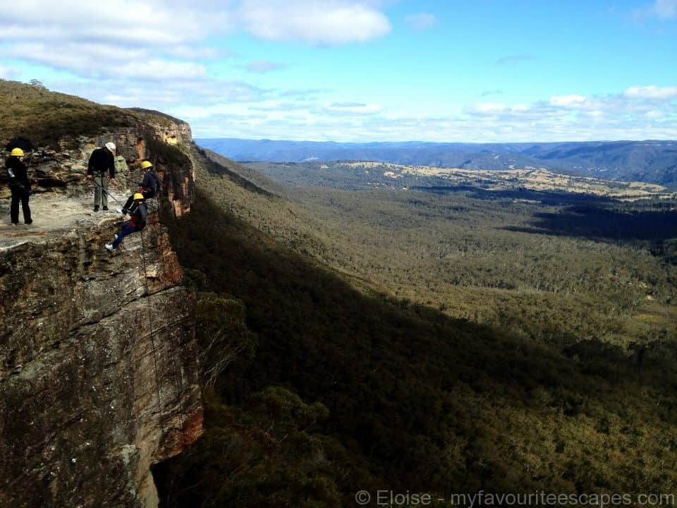 Blue Mountains Abseiling 02w