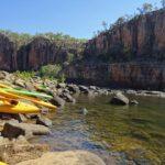Nitmiluk Katherine Gorge Canoeing
