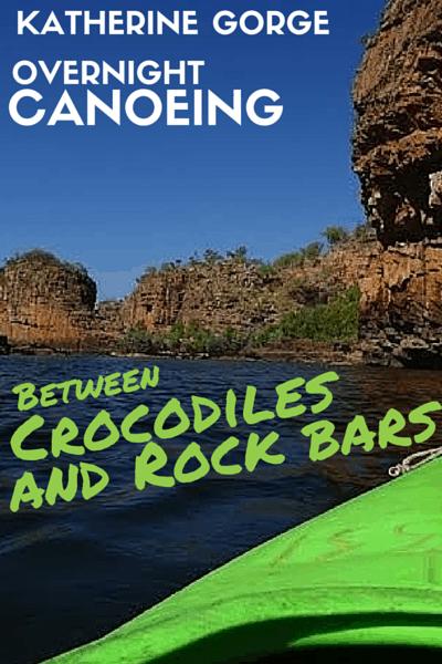 Overnight Canoeing - Katherine Gorge