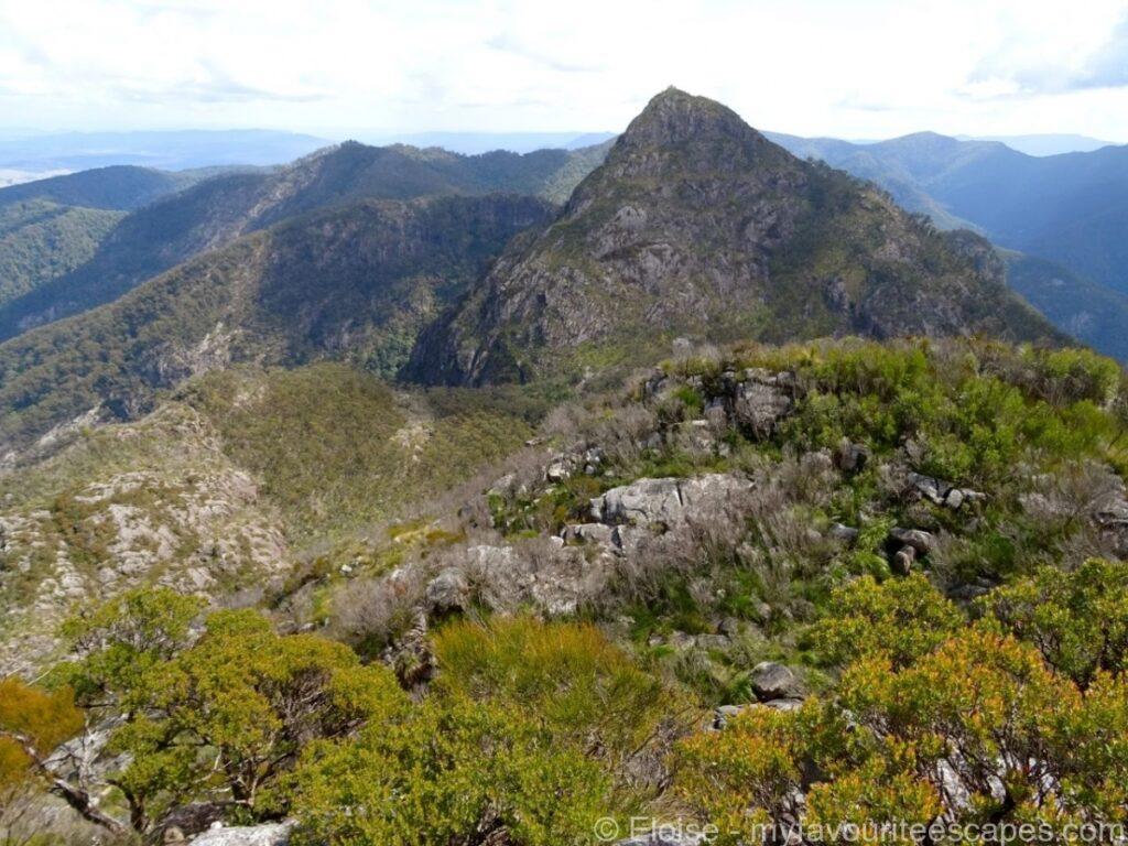 Mount Barney Hike View Peak