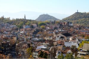 Sightseeing Plovdiv - Hill view 01