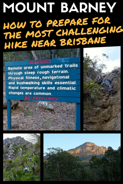hiking mount barney tips and guide