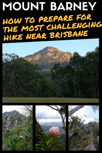how to prepare to hike mount barney
