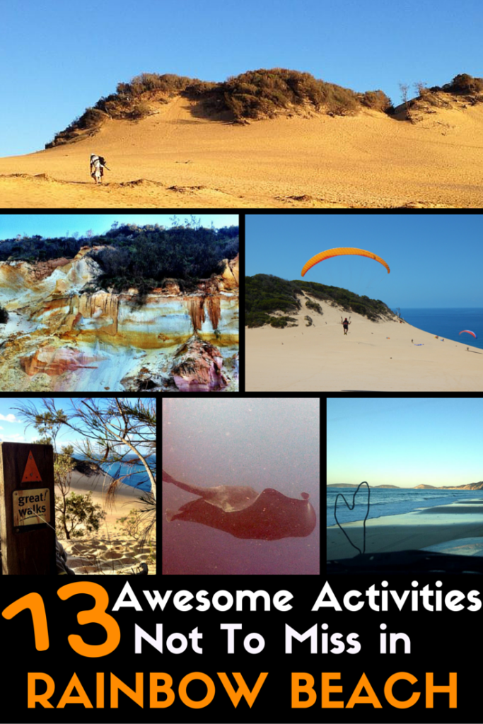 Rainbow Beach Awesome Activities