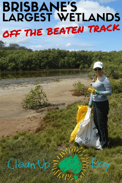 brisbane largest wetland - clean up australia day boondall wetlands