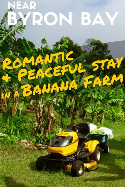 Byron Bay Romantic & Peaceful Banana Farm Stay