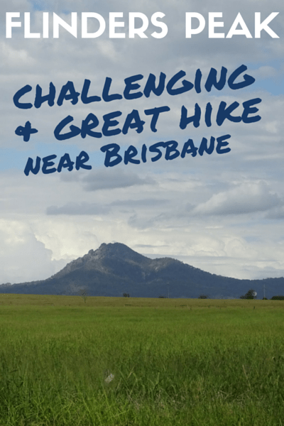 FLINDERS PEAK - hike brisbane