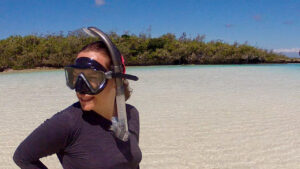 new caledonia snorkel mask