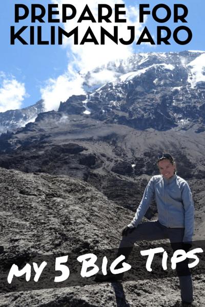 prepare for kilimanjaro climb