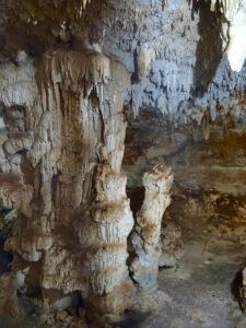 coba choo-ha cenote stalactite