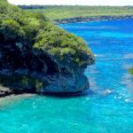 new caledonia lifou jokin cliffs