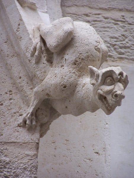 Rouen - Palais de justice gargouille