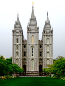 Salt Lake City - temple square