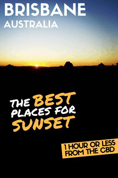 Brisbane best Sunset views