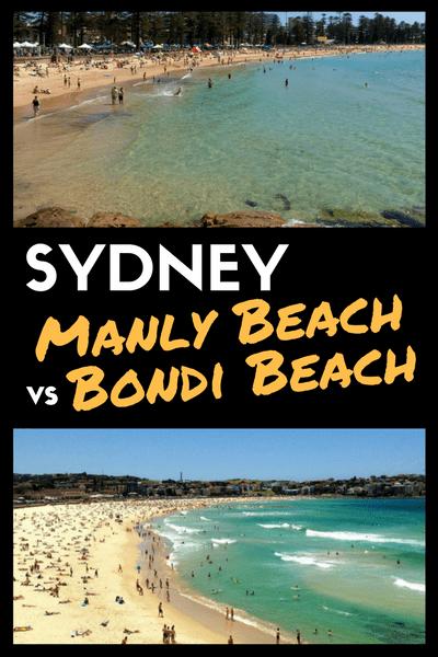 Sydney: Manly or Bondi Beach?