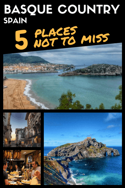 BASQUE COUNTRY Spain Road Trip itinerary places not to miss