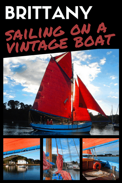 Brittany - Fantastic sailing experience on a Vintage Boat (Saint Goustan)