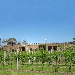 Granite Belt Itinerary - Castle Glen - outside with vines