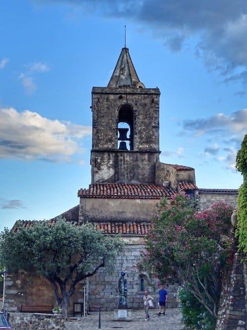 Grimaud Church Tower
