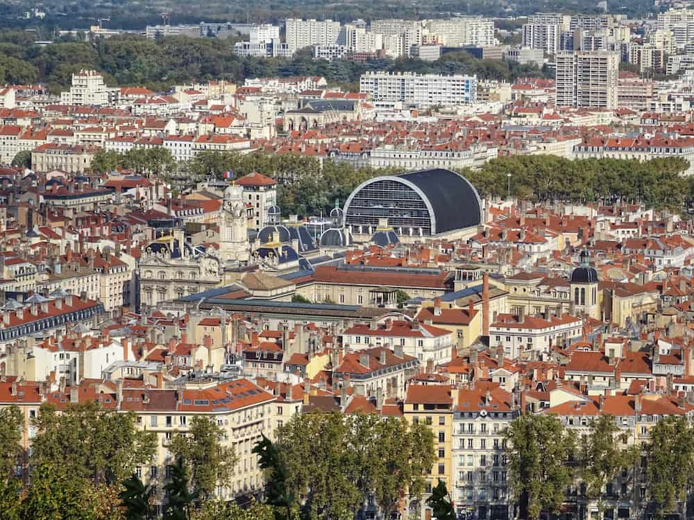 Lyon - View from Fourviere