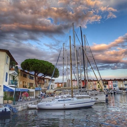 Port Grimaud Sailing Boats