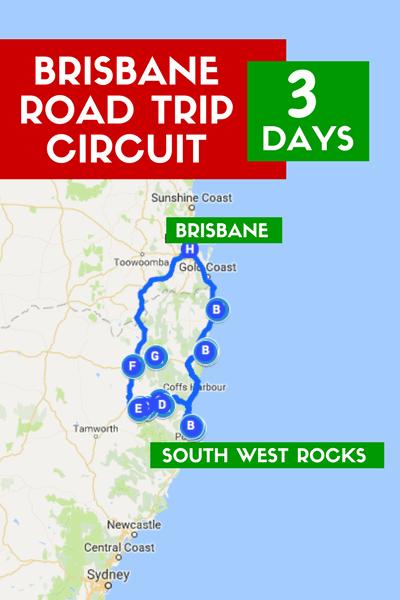 Road Trip Brisbane South West Rocks Circuit Three Days