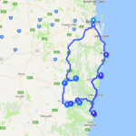 Road Trip Circuit Brisbane South West Rocks - 3 days
