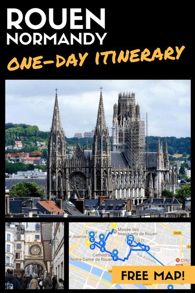 Paris to Rouen Day Trip