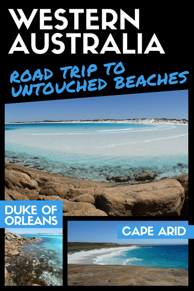 Duke of Orleans and Cape Arid NP