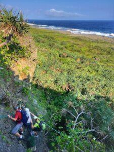 New Caledonia - Mare Island - Shabadran hike