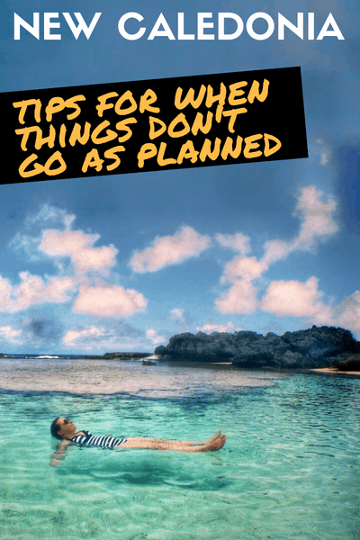 New Caledonia Trip - When things don't go as Planned - Beach