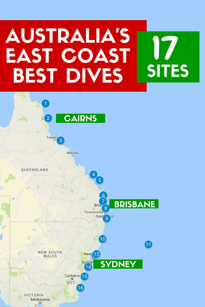 Scuba Diving Australia: The Best Scuba Diving Sites on the East Coast