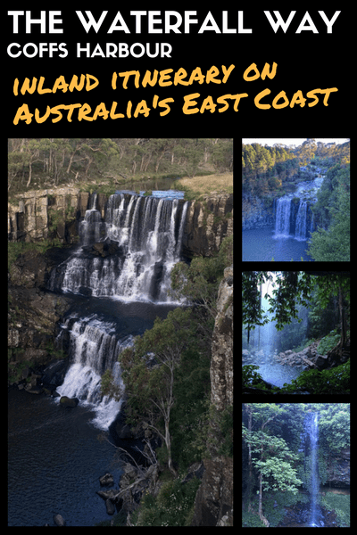 THE WATERFALL WAY - COFFS HARBOUR ITINERARY BRISBANE