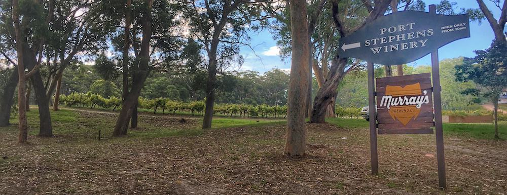 Murrays Brewery Port Stephens winery