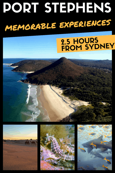 Things to do in Nelson Bay / Port Stephens (Weekend Getaway from Sydney)