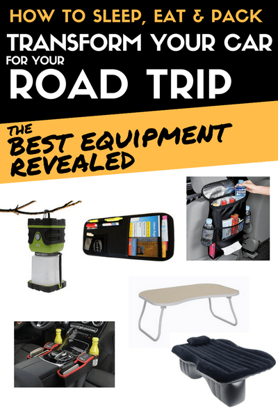 Car camper conversion: Equipment you need to sleep in your car