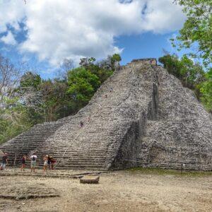 Yucatan Peninsula itinerary - Coba Pyramid