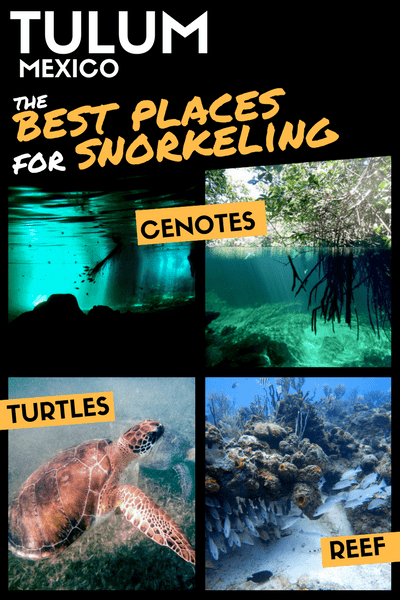 Snorkeling Tulum - Best places